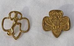 Vintage Girl Scout pin