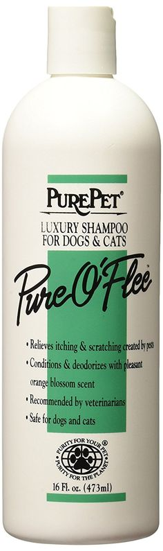 Pure Pet Flea Shampoo * Read more  at the image link. (This is an affiliate link and I receive a commission for the sales)