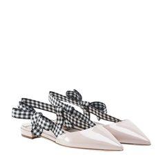 MIU MIU SLING BACK BALLERINAS. #miumiu #shoes #