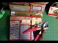2012 December Daily with Countdown Numbers - (Kathy Orta inspired) - Lapbook