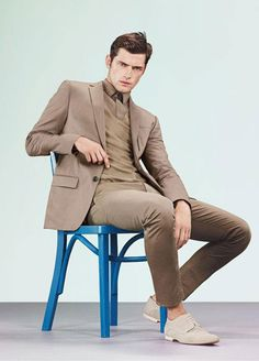 Sean O'Pry for Hugo by Hugo Boss SS 2013. And yet more outfit ideas for my birthday.
