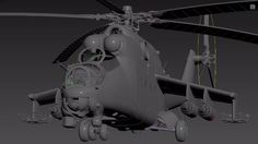 3ds Max - Mi-24 Helicopter Overview Tutorial
