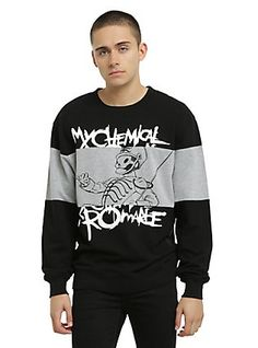 My Chemical Romance The Black Parade Crew Pullover, BLACK