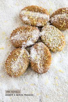 Coconut Matcha And Lemon Teacakes - Cook Republic