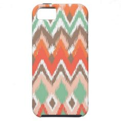 Tribal aztec chevron zig zag stripes chic pattern iPhone 5 case.  $44.95