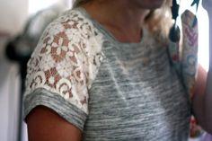 Stitch Fix #7: Le Lis Polli Lace Detail Knit Top