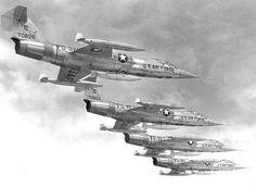 Aircraft Used in Vietnam War   Lockheed F-104 Starfighter   Aircraft  
