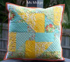 9 Patch Mash up Cushion
