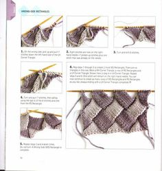 What is Entrelac knitting? How to Entrelac Knitting? | Knitting Unlimited