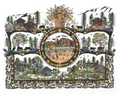Cutting Marianne Dubuis 'Mountain restaurants' sbm Swiss Art Rustic