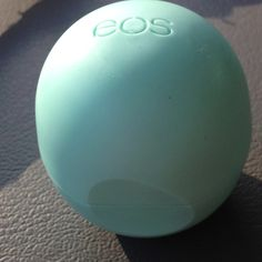 EOS chapstick. Not only does it protect your lips and keeps them soft, it also matches the L Space 2013 Flutter Bye Bandeau Seafoam Green Bikini
