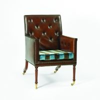 A137 Country House Library Chair