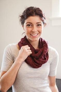 Endless Loop Scarf Pattern - Knitting Patterns and Crochet Patterns from KnitPicks.com