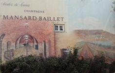 peinture champagne, publicité murale, mur peint Epernay, champagne Mansard Baillet, Epernay, champagne Epernay, France, Photos, Painting, Art, Hunting, Board, Paintings, Pictures, Kunst