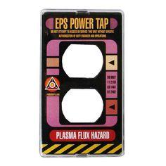 Star Trek TNG Power Plate Electrical Outlet Cover - Roddenberry - Star Trek - Home Decor at Entertainment Earth