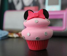 Mickey Mouse cupcake!!