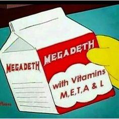 #bandmemes #musicmemes #bandadda #Megadeth #ThrashMetal #DaveMustaine #MetalHead