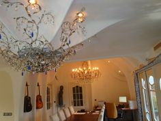 Livingroom Baarle Nassau (Nederland) Dutch Gaudi