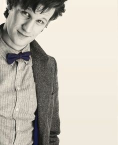 The Doctor in sepia tone. Nicely done and it suits Matt Smith's Doctor quite well I think.