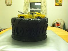 Muscle Car Birthday Cake