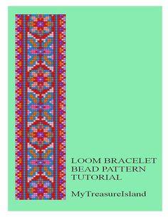 Bead+Loom+Geometrical+Motif+9+Multicolor+by+MyTreasureIsland