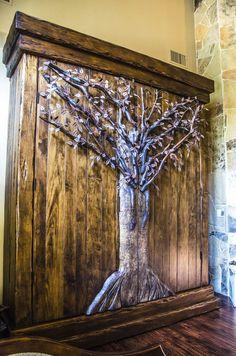 ......want this stunning woodland closet <3 <3 <3