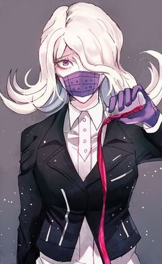 DanganRonpa 3 ⭐ always repin seiko oh my god my edge queen she is the best i love