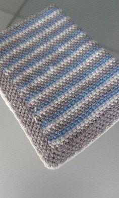 Mantas de ganchillo para bebé - Blog de Costurea Crochet Baby Blanket Free Pattern, Newborn Crochet Patterns, Crochet For Beginners Blanket, Baby Afghan Crochet, Sewing Patterns Free, Pattern Sewing, Crochet Blankets, Baby Blankets, Sewing Blogs