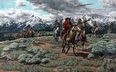 Image result for mountain men prints