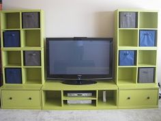 DIY Media Center... Like this! Wonder how many years it would take for my hubby to build me one?