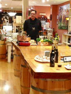 Chef Fabrizio at the @Saratoga Olive Oil Co. Cooking Class #chiantiristorante