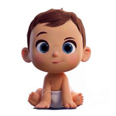 Baby Cartoon Characters, Cartoon Art, Baby Shawer, Baby Box, Character Modeling, 3d Character, Hd Cute Wallpapers, Anime Bebe, Pregnancy Art