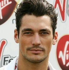 Young handsome, sexy David Gandy.