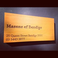 Masons of Bendigo -