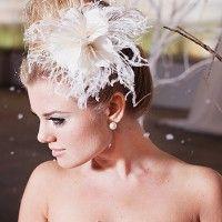 Floral Bun Bride Hairstyle via