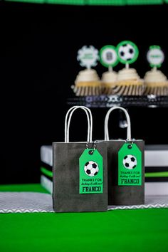 Soccer Favor Tags Printable Soccer Party Favor Tags