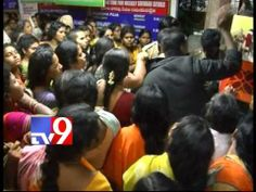 Tirumala devotees protest inside temple