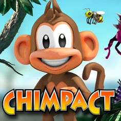 Chimpact is a physics puzzler in which you have to catapult a chimp to collect things. #Android #App