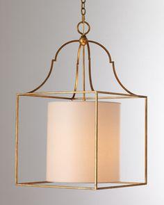 """Gustavian"" Lantern Pendant Light - Horchow"