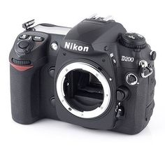 Nikon D200 10.2MP Digital SLR Camera (Body Only) by Nikon. $1399.99. From the Manufacturer                 The powerful, feature-packed D200 digital SLR camera delivers a high-precision, high-performance package and creates a new class of camera between entry-level and professional digital SLRs.  The Nikon D200 combines the solid look and feel and advanced camera operation of Nikon's D2 professional series with the approved user-friendliness and stunning image quality t...