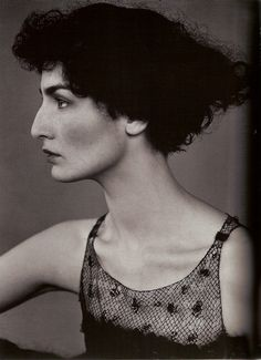 Photo of model Erin O Connor