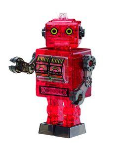 Tin Robot Toys 3D Puzzle