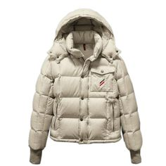 6a6efb703a19 Moncler Reynold Featured Mens Down Jackets Cream-Colored Cheap Moncler  Jackets Outlet Store