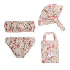 We love C de C Flowers Swimsuit Kit!