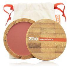 Økologisk kompakt blush, brunrosa.Definer ansiktet og gi det en sunn glød med blush fra ZAO. Blush er det essensielle produktet som både gir en naturlig look og