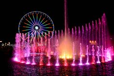 The Island Fountain Shows at The Island in Pigeon Forge, Tennessee.
