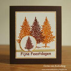 Corine's Gallery: Christmas Trees - 10 minute card