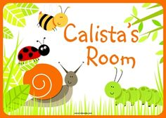 Room Sign Bugs