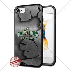 Metal,NCAA,Cal Poly Mustangs ,iPhone 7 Case Cover Protect…