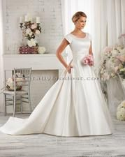 Lorna Totally Modest WEDDING dresses, BRIDESMAID & PROM dresses w/ sleeves